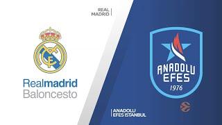 EuroLeague Playoff 3. Maç: Real Madrid - Anadolu Efes