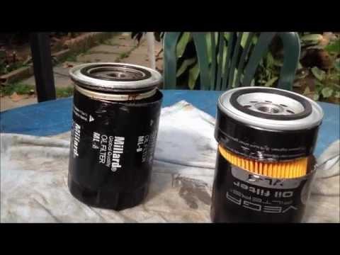 Comparación Filtros de Aceite Disponibles en Venezuela, Millard, Vega, WIX