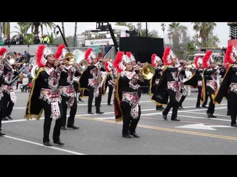 Buhos Marching Band, Desfile de las Rosas 2017