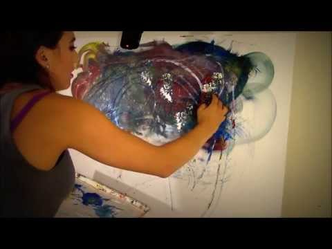 Paint Your Cares Away! *Such a Tingly ASMR Experience*