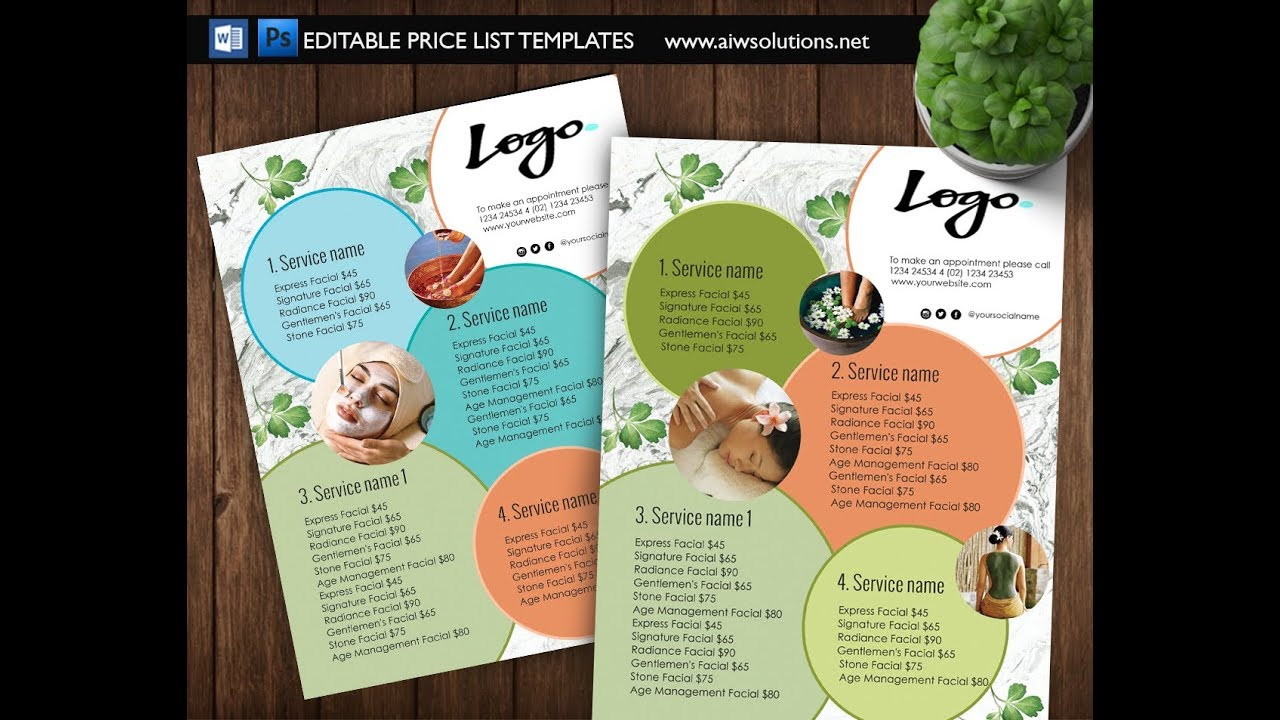 Pricing Template Word from i.ytimg.com