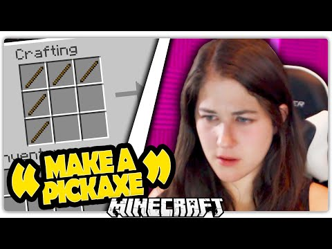GIRL PLAYS MINECRAFT FOR THE FIRST TIME from YouTube · Duration:  18 minutes 34 seconds