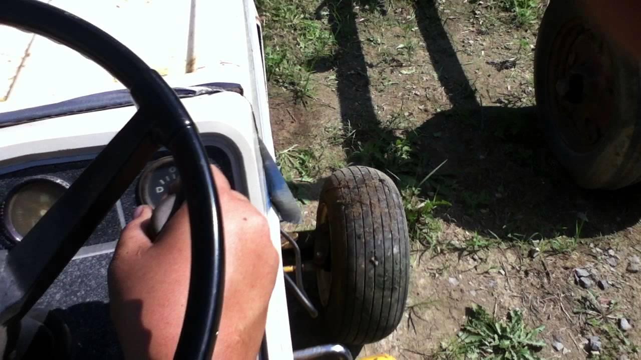 Cub Cadet 1450 Parts Tractor - YouTube