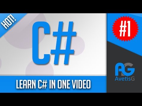 C# Tutorial For Beginners - Learn C# In One Video