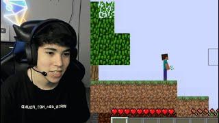 Minecraft literalmente en 2D