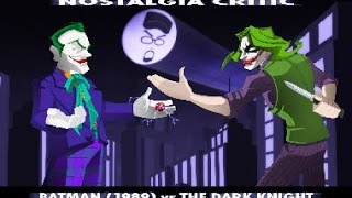 Old vs New: Batman vs Dark Knight - Nostalgia Critic