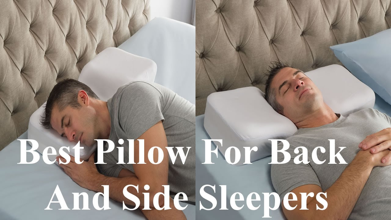 Best Pillow For Back And Side Sleepers Youtube
