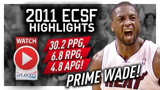 Throwback: Dwyane Wade ECSF Offense Highlights VS Celtics 2011 Playoffs - PRIME Wade!