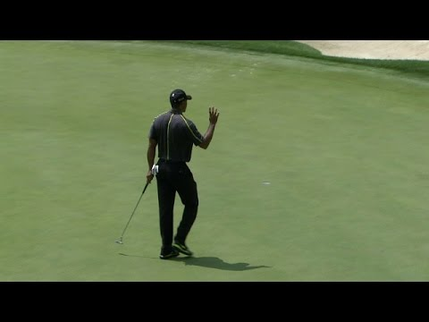 Round 2 highlights from Tiger Woods at Bridgestone