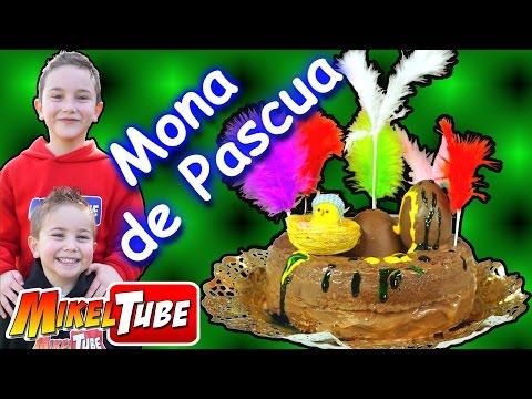 Mona de Chocolate para Pascua en Semana Santa - Cocinamos con mama