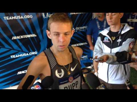 Galen Rupp Talks After 9th Place 5000m Finish At 2016 Olympic Trials