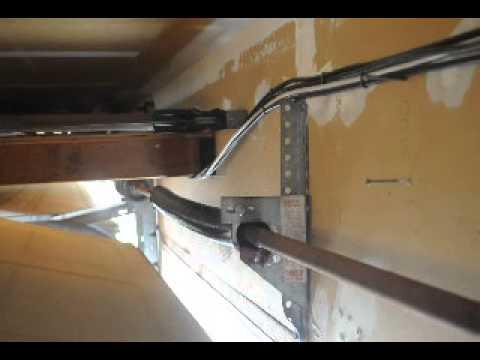 Althomepair garage door torsion spring diy loose spring althomepair garage door torsion spring diy loose spring bracket causes plate to bend youtube solutioingenieria Gallery