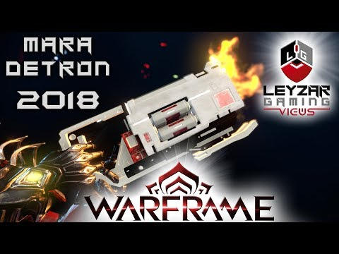 Mara Detron Build 2018 (Guide) - The Pocked-Sized Shotgun (Warframe Gameplay)
