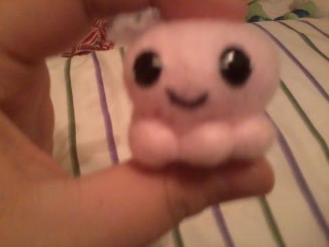 DIY mini octopus stuffed animal!