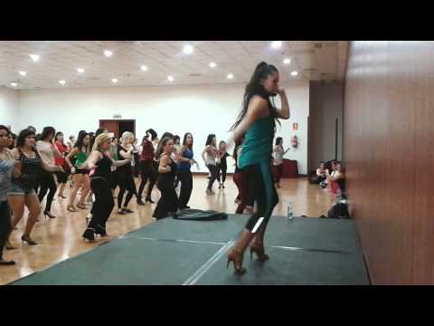 Clase Anita Guera de sexos 0 Madrid Salsa Festival 2013 Travel Video