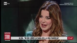 """Alba Parietti: """"vi Racconto La Mia Famiglia In Un Libro"""" - Storie Italiane 27/02/2020"""