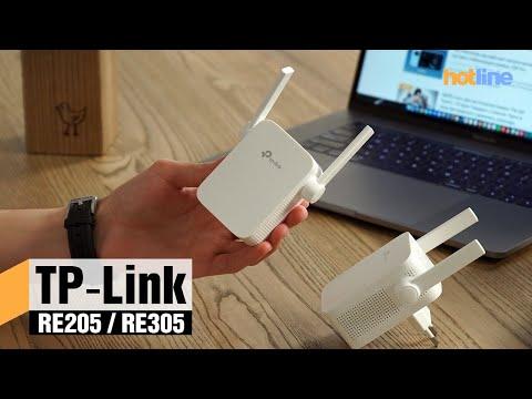 TP-Link RE205 и RE305 — обзор усилителей сигнала Wi-Fi