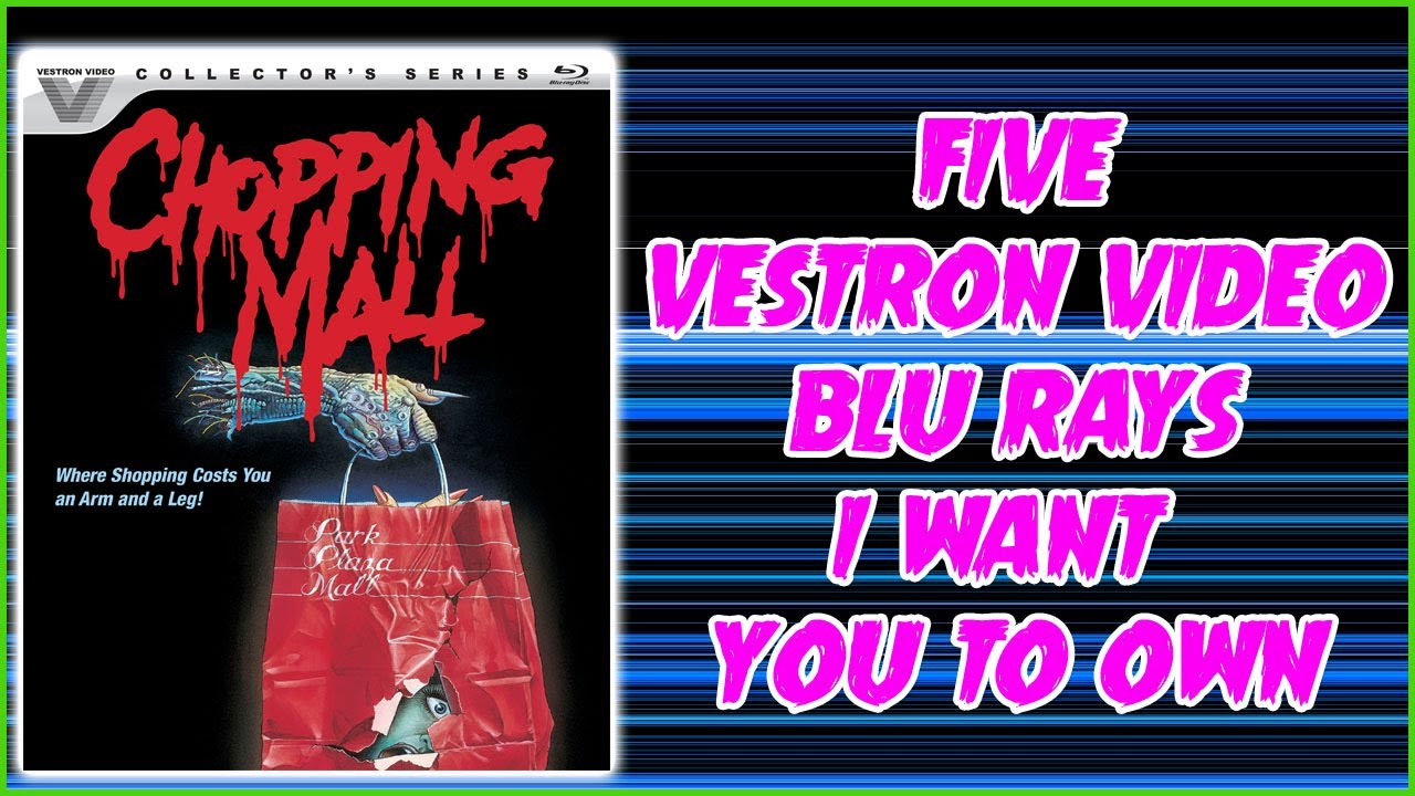 Download Five VESTRON VIDEO Blu Rays I Want You To Own   Christian Hanna Horror