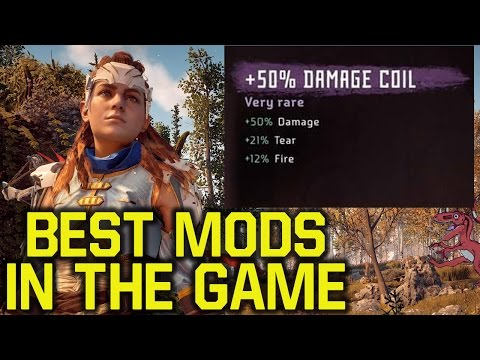 Horizon Zero Dawn Tips and Tricks - BEST MODS IN THE GAME (Horizon Zero Dawn mods)