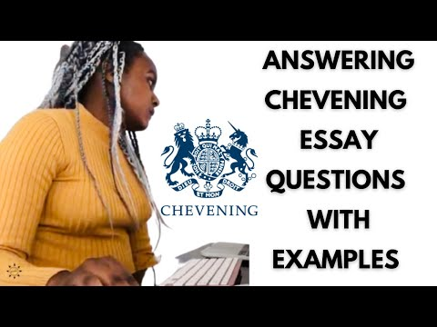 CHEVENING SCHOLARSHIP: Winning Scholarship Essays (with Examples) | EP 5 | Glow Getter