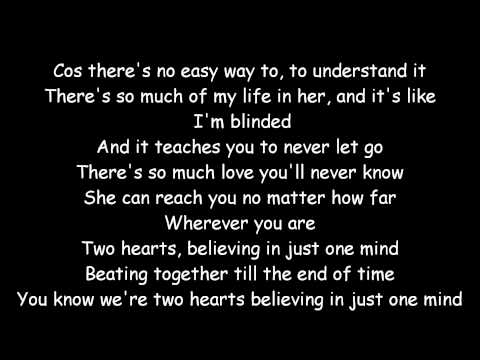 Phil Collins - Two Hearts with Lyrics