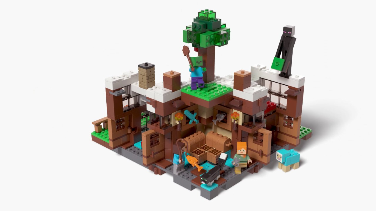 Lego Minecraft The Waterfall Base 21134 By Tormentalous