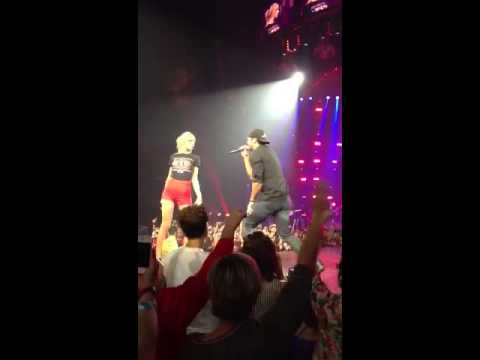 Taylor Swift and Luke Bryan in Nashville September 19, 2013