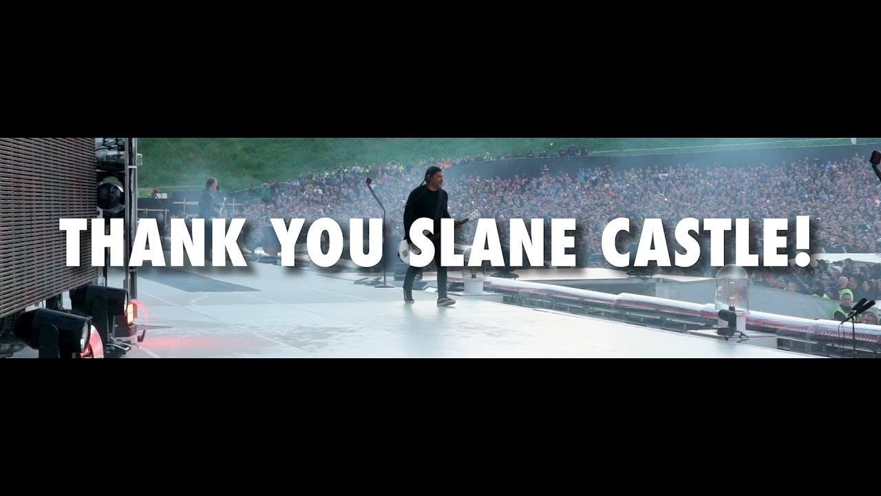 Metallica thank Irish fans after epic set at Slane Castle | Louder