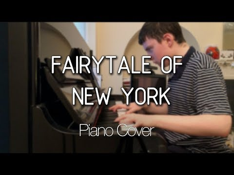 Fairytale Of New York - The Pogues - Piano Cover