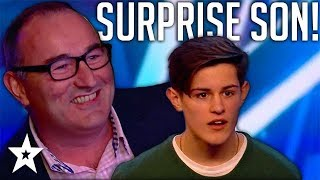 Dad SHOCKS His Son When He UNEXPECTEDLY Turns Up For His Audition | Got Talent Global