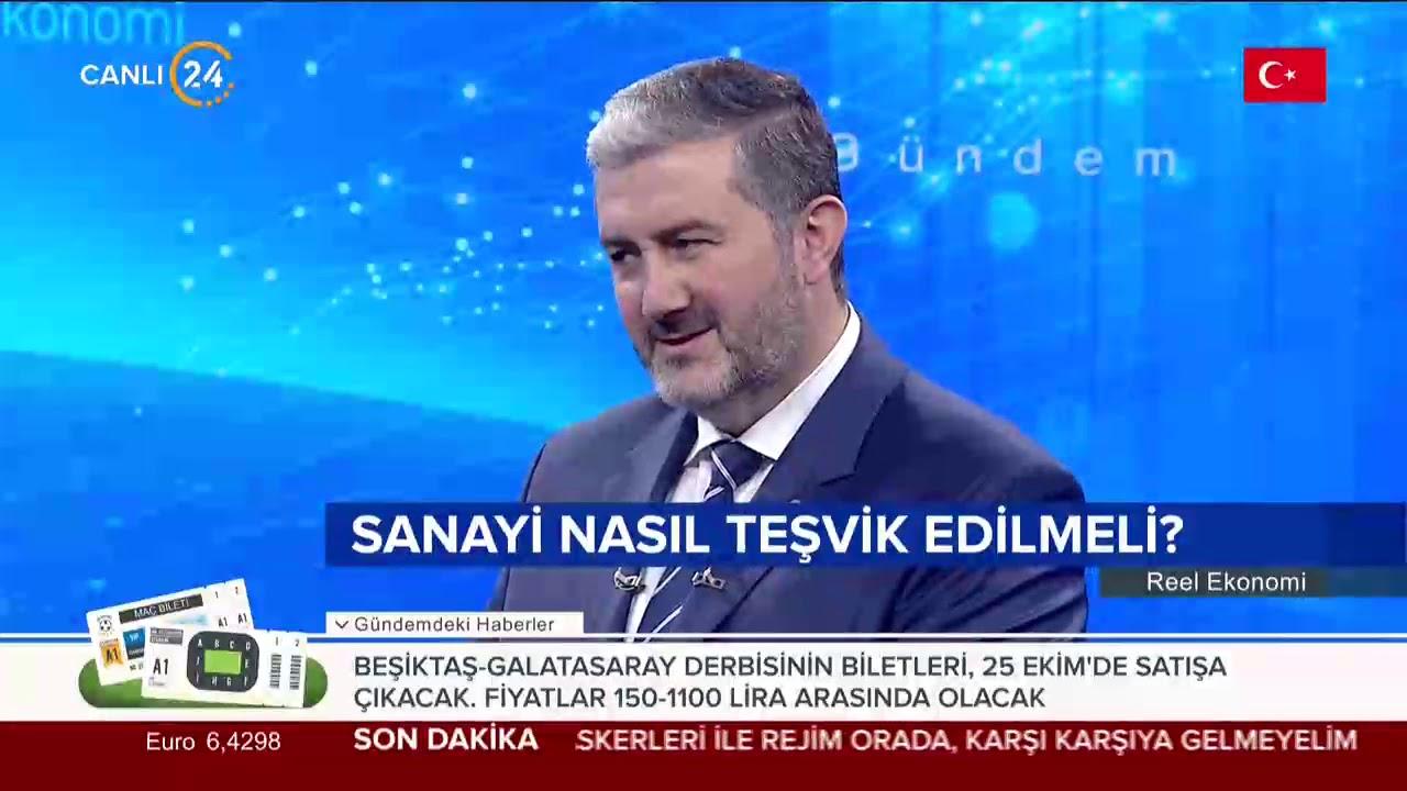 Reel Ekonomi (23.10.2019) MÜSİAD Başkanı Abdurrahman Kaan Reel Ekonomi'de