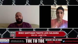 Frank Trigg Interviews RFA 39's Luis Saldana