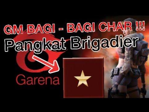 Gm Bagi Bagi Char Point Blank Garena Indonesia Pangkat Brigadier General Youtube