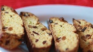 Snack Recipe Cranberry & Orange Biscotti