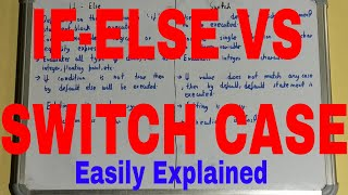 If Else vs Switch Case|Difference between If Else and Switch|If Else and Switch Case Difference