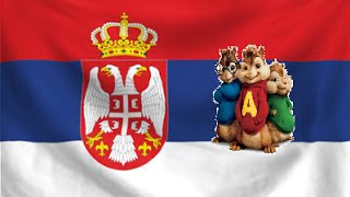 Beauty never lies (Bojana Stamenov) - Eurosong 2015 (Serbia) - Alvin and the chipmunks + Lyrics
