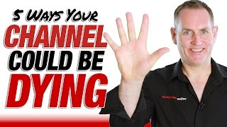 5 Reasons Your YouTube Channel Is Failing