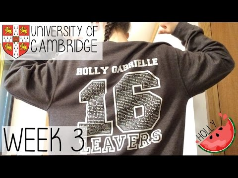 WEEK 3 AT CAMBRIDGE UNIVERSITY | WORKLOAD, MORNING ROUTINE, LADY EATWELL DINNER & HCLF VEGAN MEALS