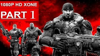 Gears of War Ultimate Edition Gameplay Walkthrough Part 1 [1080p] - No Commentary