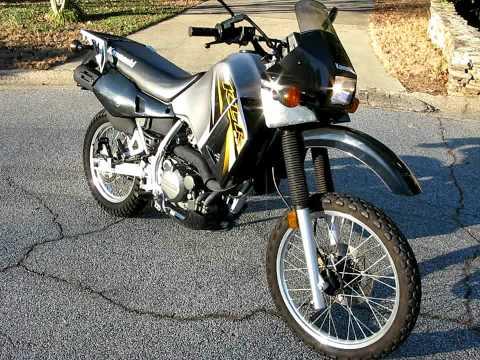2007 Kawasaki KLR650 - YouTube
