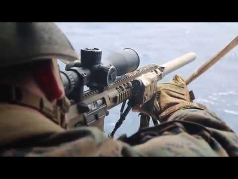 Aerial Sniper Training • US Marine Scout Snipers