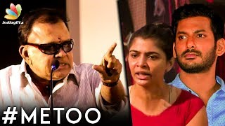 விஷால் ACTION எடுங்க : Radha Ravi Angry Speech | Chinmayi | Metoo Movement