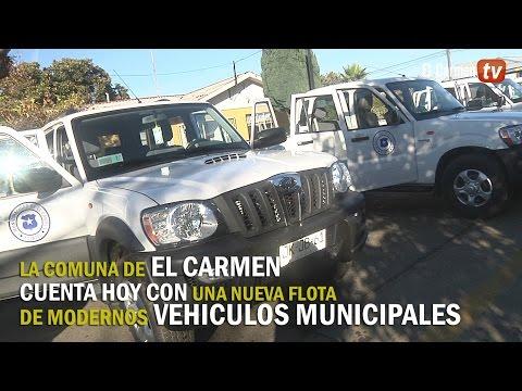 Nueva flota de vehículos para Municipalidad de El CArmen