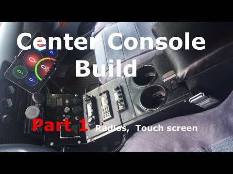 Center Console Build Part 1- Making the Frame