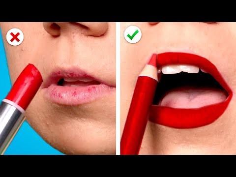 Smart Beauty Hacks ! 12 MakeUp Tricks Every Girl Should Know
