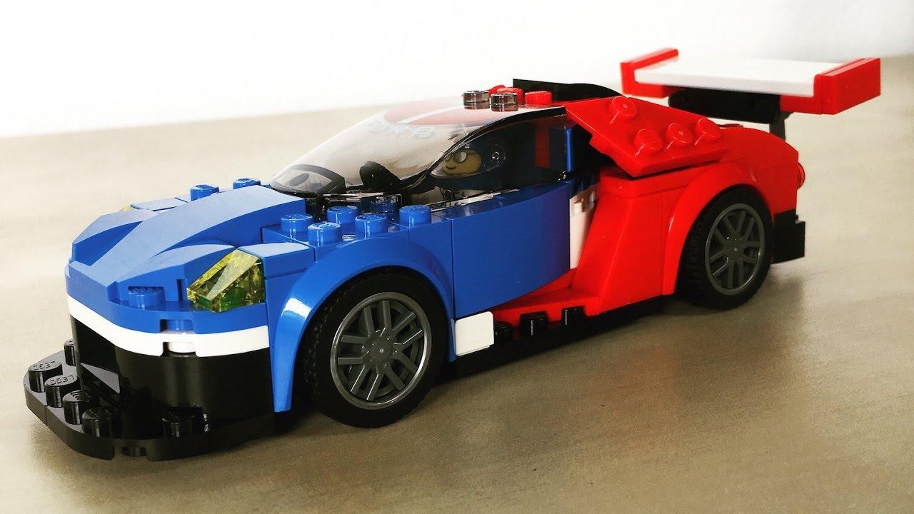Lego Speed Champions  Ford Gt  Ford Gt  Zusammenbau
