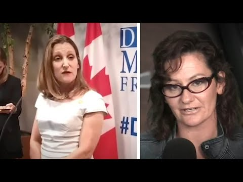 Freeland: Yes to Soros and Unifor, NO to Russians at Media