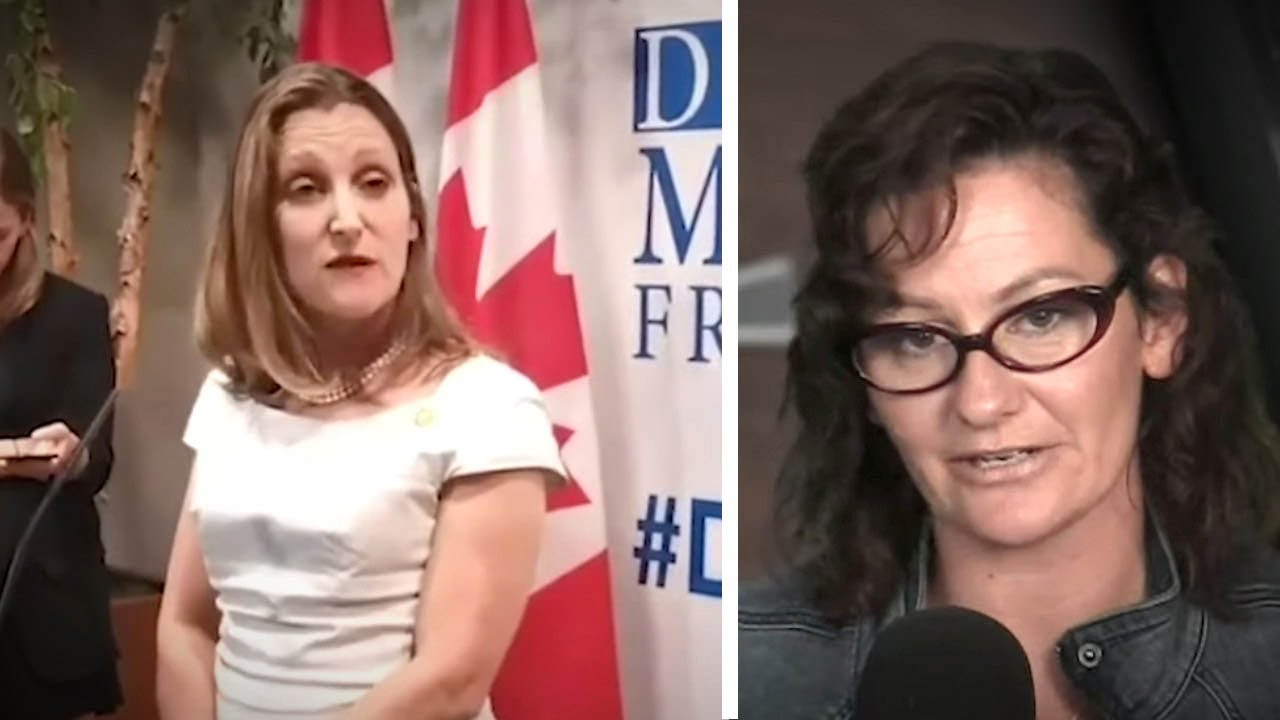 Freeland: Yes to Soros and Unifor, NO to Russians at Media Freedom Conference! | Sheila Gunn Reid