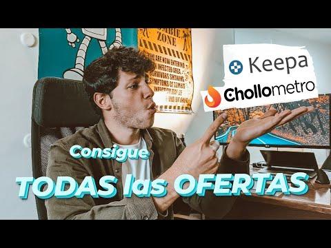 COMO encontrar las MEJORES OFERTAS en Amazon   Como funciona CHOLLOMETRO y KEEPA