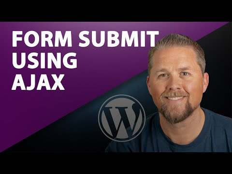 Form Submit Using Ajax - WordPress Form Ajax